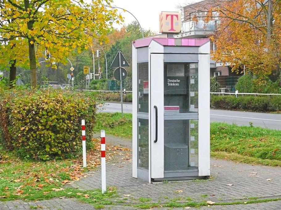 Öffentliche Telefonzellen Fernsprecher Havixbeck Altenberger Straße Parkplatz Baumberg-Sporthalle